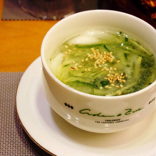 おうちバル_きゅうりづくし_きゅうりの冷たいスープ